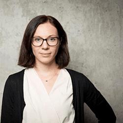 Maja Räger, Teamleiterin Interne Kommunikation