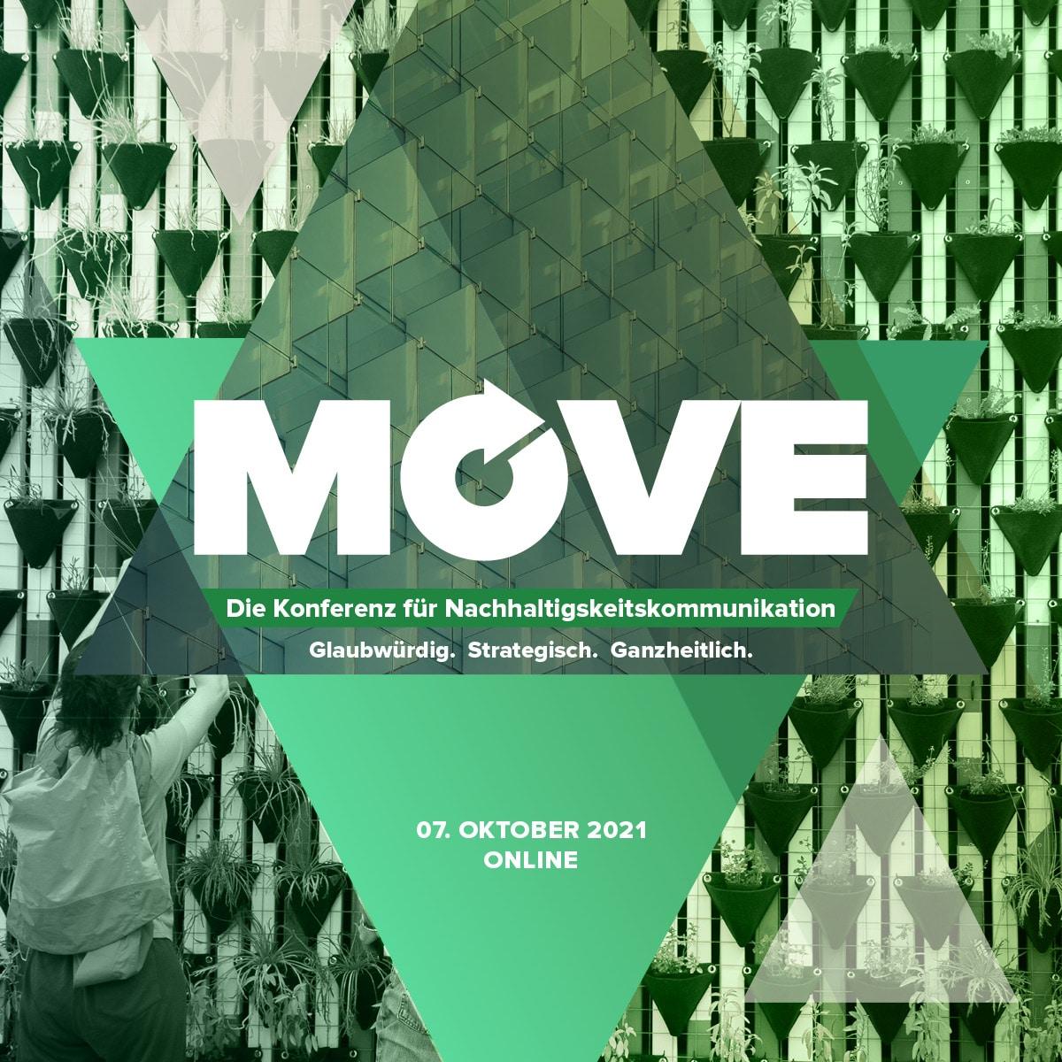 Move – Die Konferenz für Nachhaltigkeitskommunikation, 07.10.2021, in Online