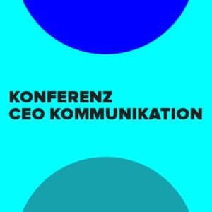 Konferenz CEO-Kommunikation