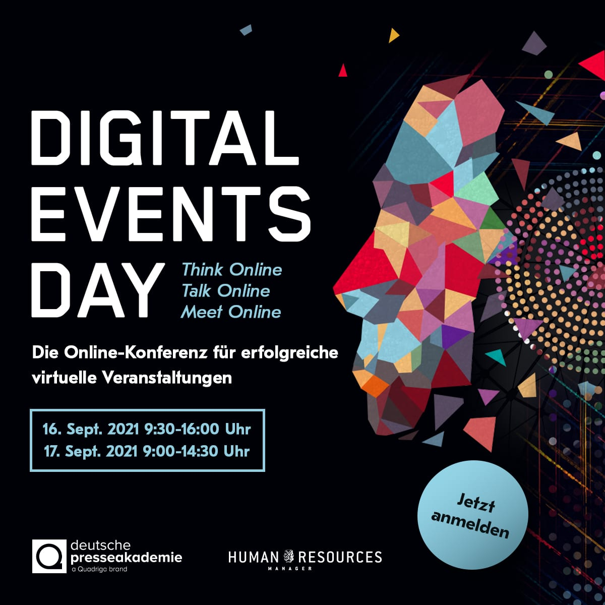 Digital Events Day, 16. - 17.09.2021, in Online